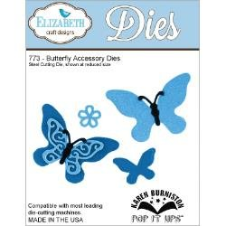 Elizabeth Craft Butterfly Accessory Dies