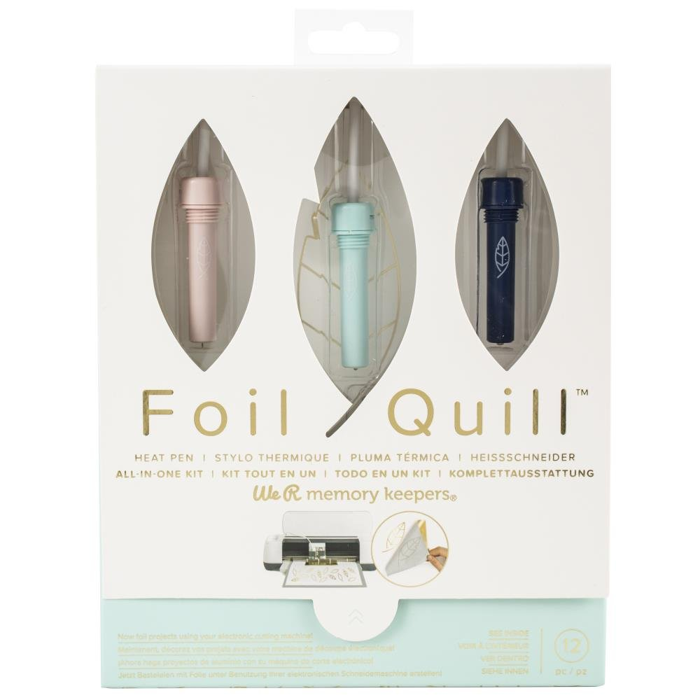 WeRMemory Keepers Foil quill starter kit 12pc
