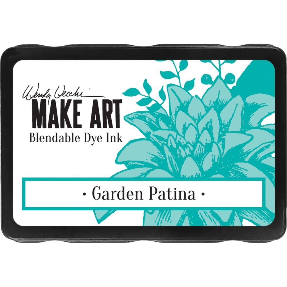 Wendy Vecchi Make Art Blendable Dye Ink Garden Patina