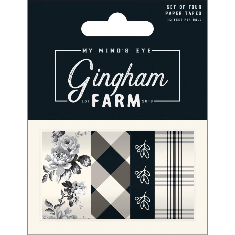 My Mind's Eye Gingham Farm Decorative Tape