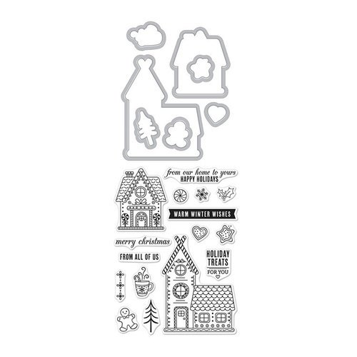 Gingerbread House Stamp & Cut