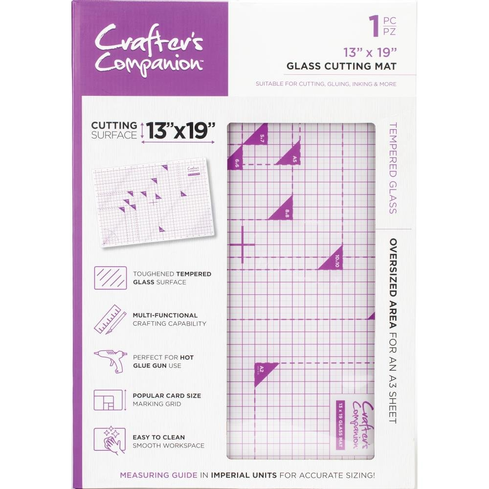 Crafter's Companion 13 x 19 Glass Cutting Mat