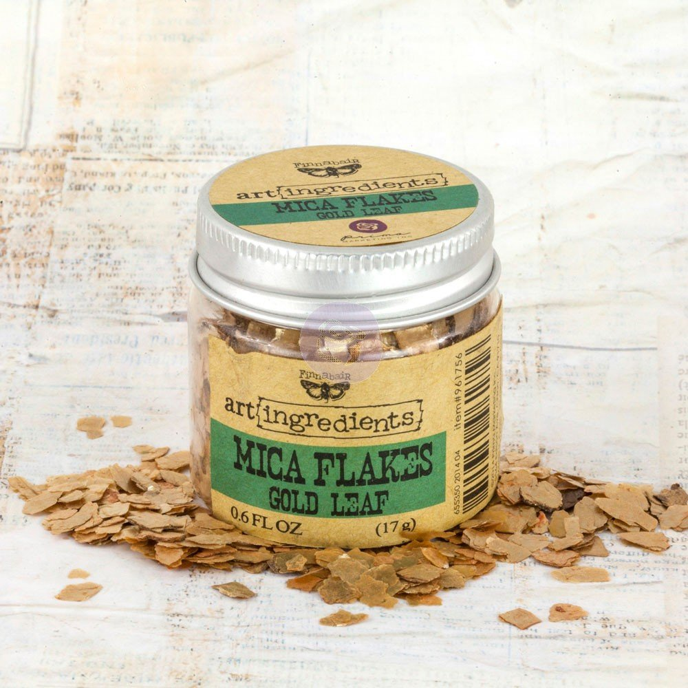 Gold Leaf Mica Flakes