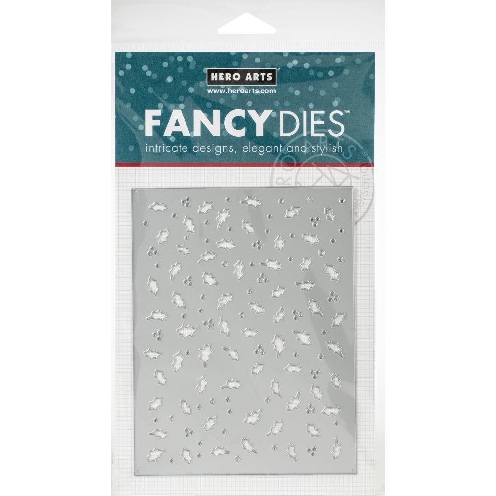 Hero Arts Fancy die Holly confetti