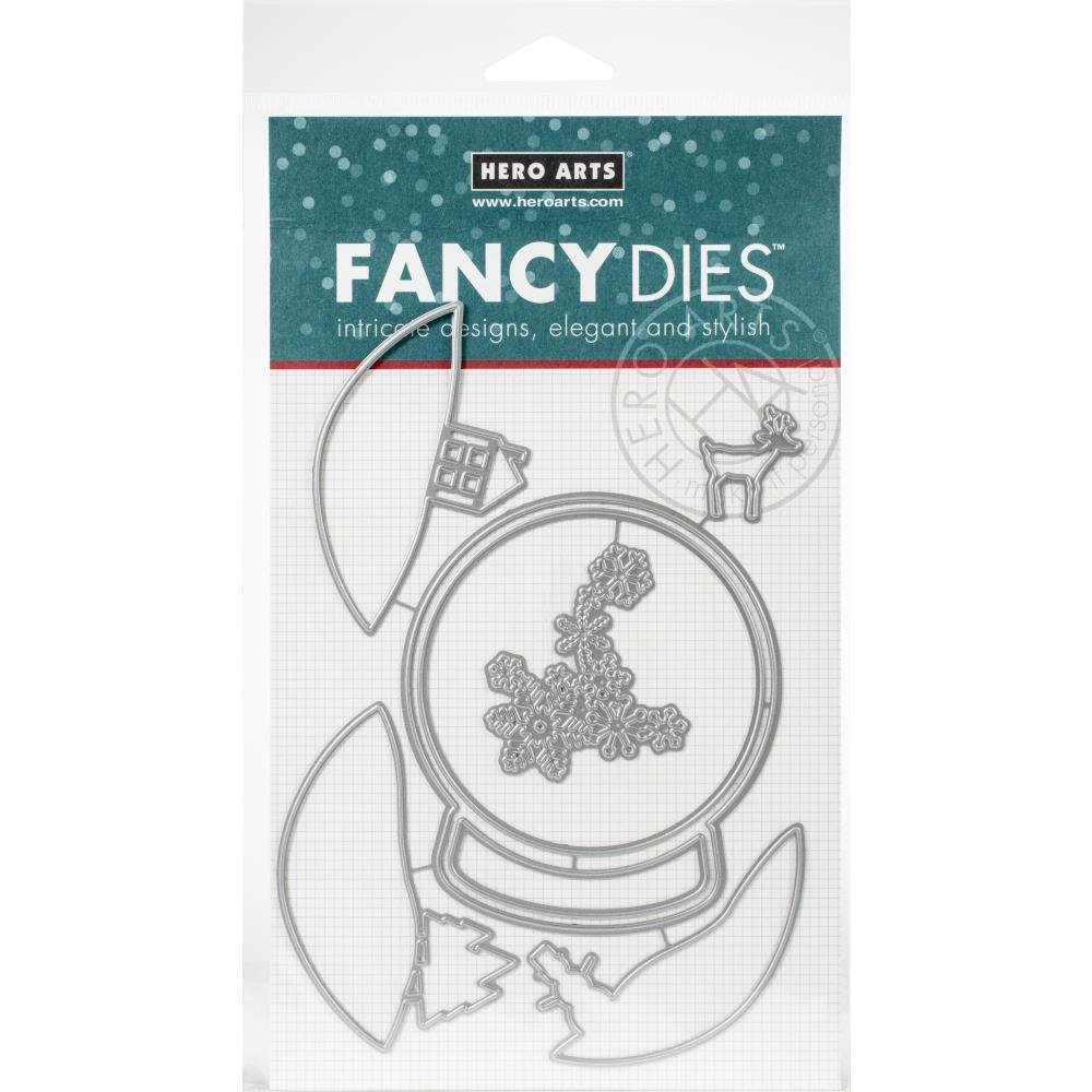 Hero Arts Fancy dies Layering snow globe