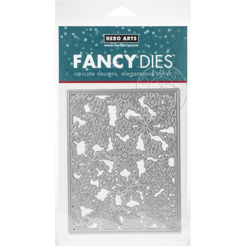 Hero Arts Fancy dies Snowflake pattern cover plate