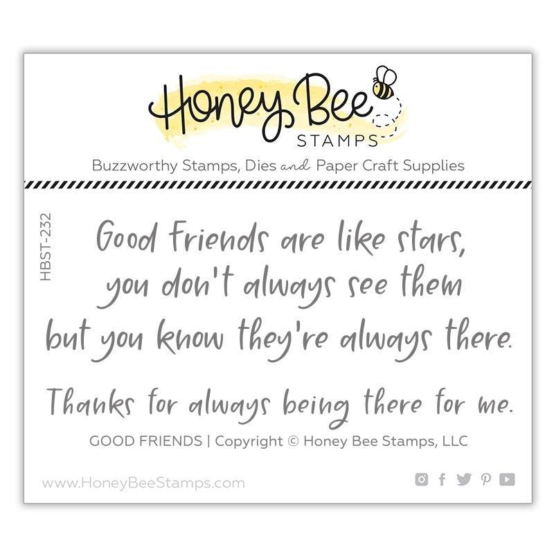 Honey Bee Good Friends Stamp Set