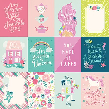 Imagine That! 3 x 4 Journaling Cards