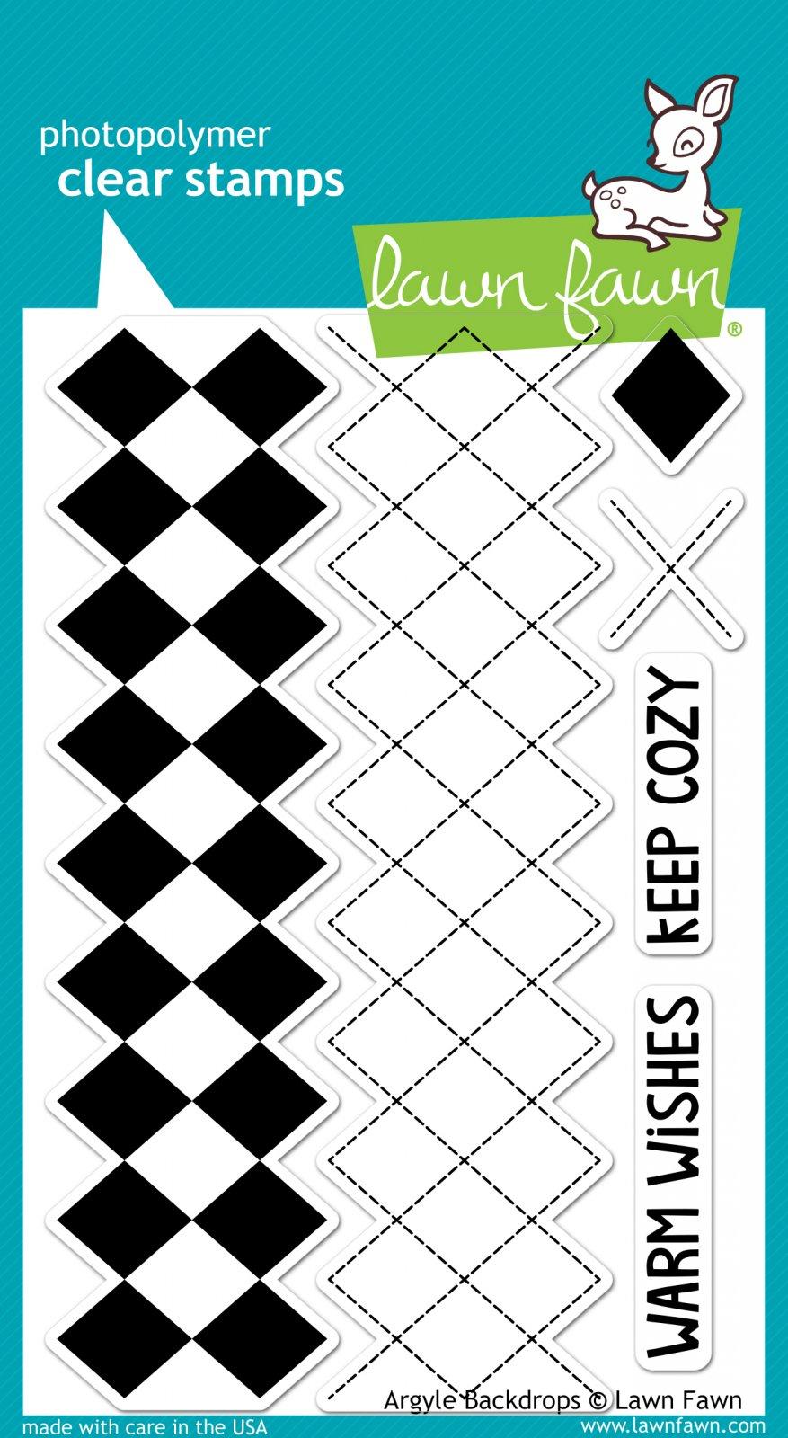 Argyle Backdrops Stamp Set