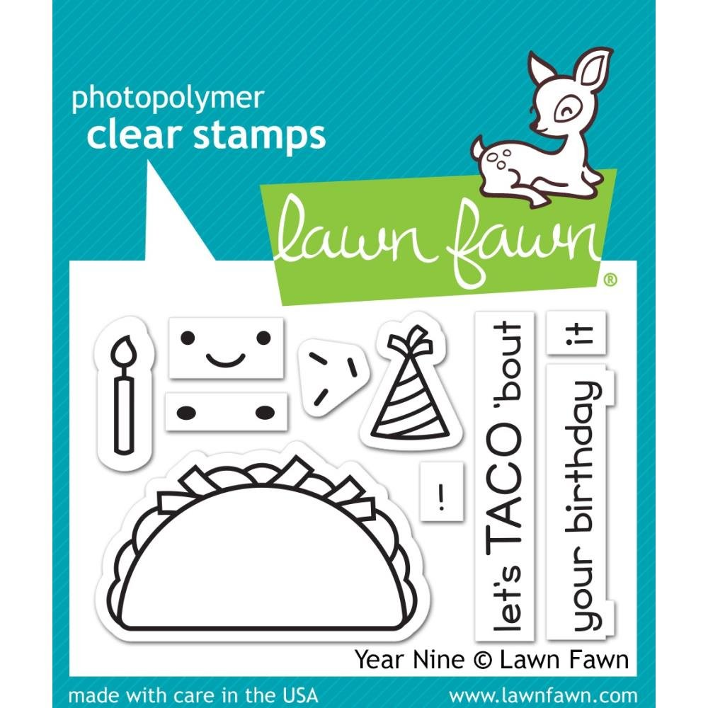 Lawn Fawn Year nine Stamps
