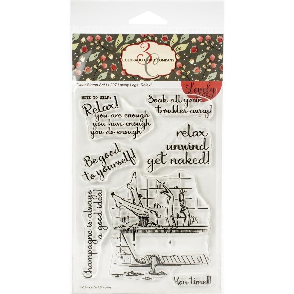 Colorado Craft Company Lovely Legs Stamp Set