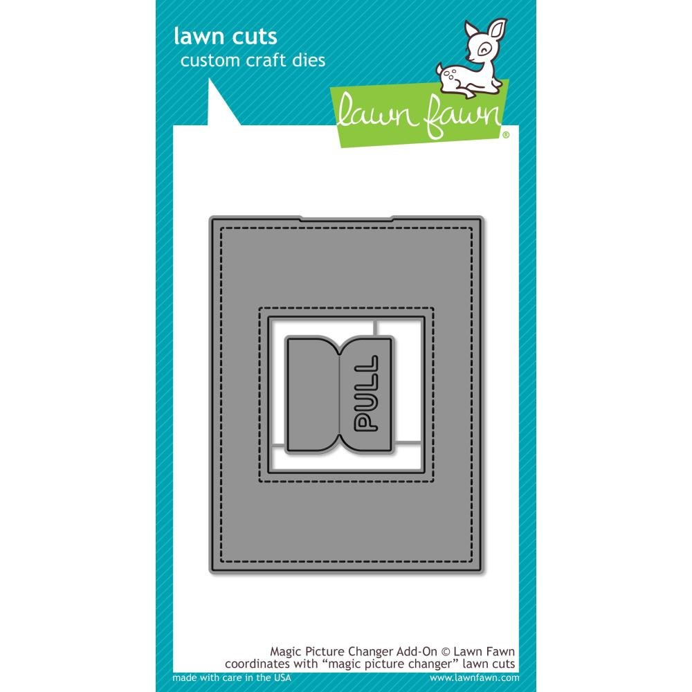 Lawn Fawn Magic Picture Changer Add on Die Cut