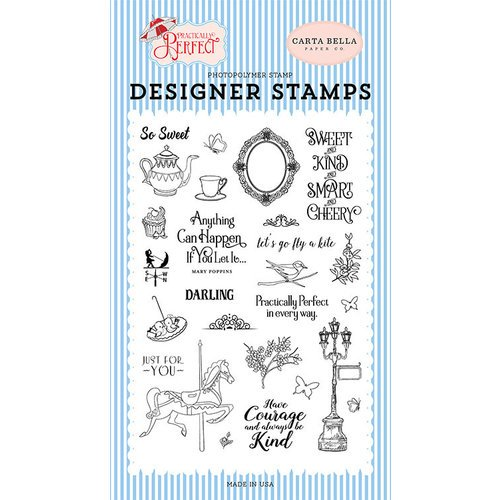 Practically Perfect Designer Stamp Set