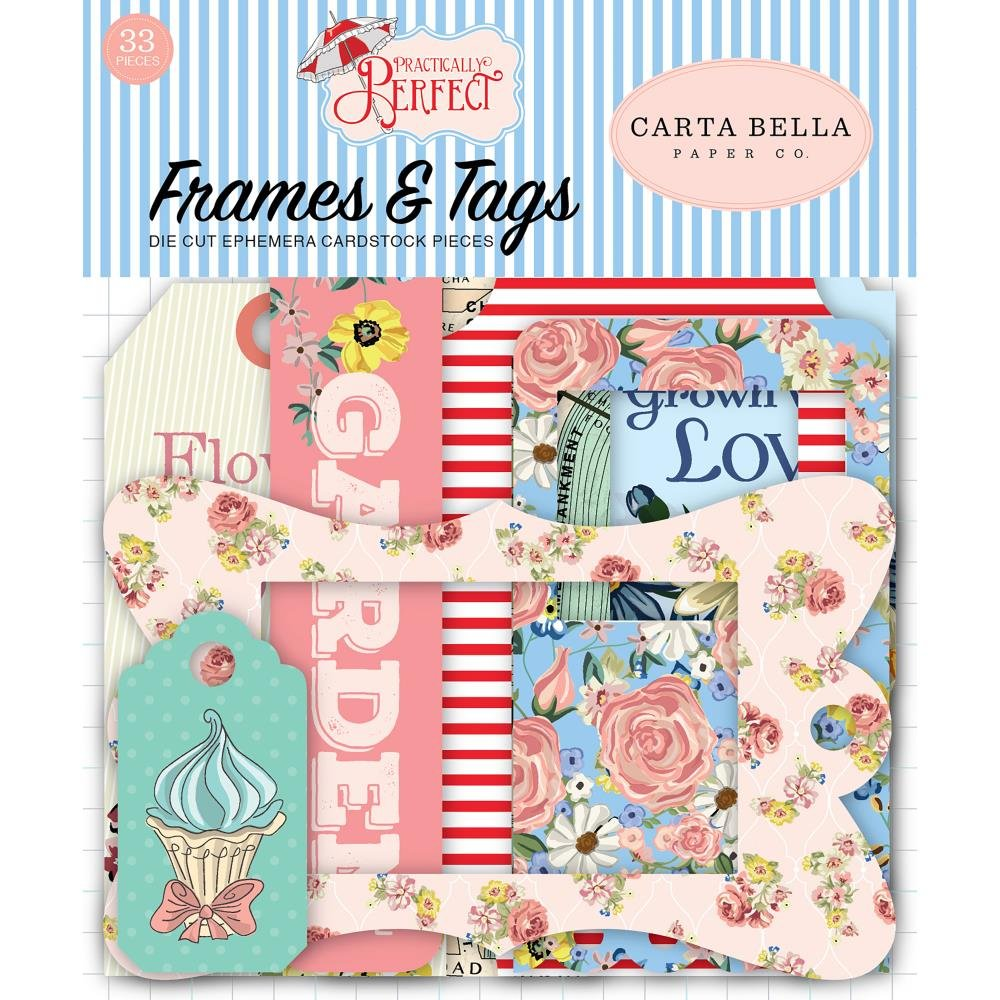 Practically Perfect Tags & Frames