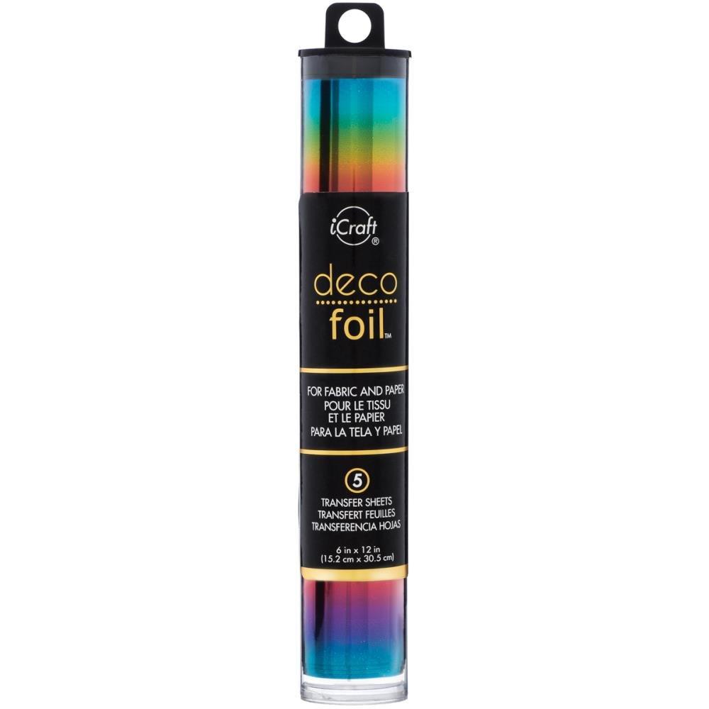 Deco Foil Rainbow Foil Transfer Sheets