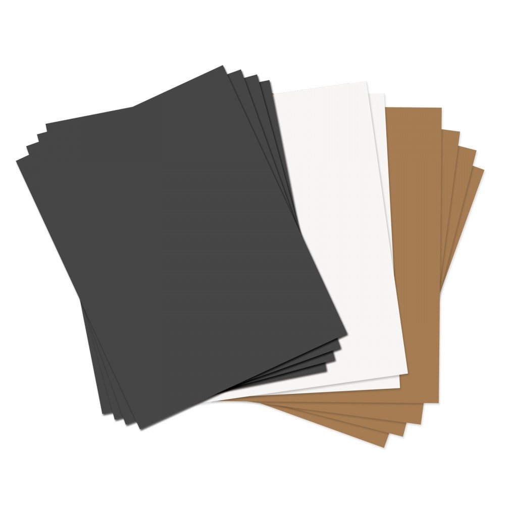 Assorted Basics Leather Sheets
