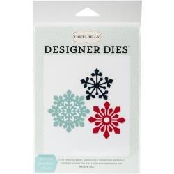 Carta Bella Designer Dies Sparkling Snowflake Die Set