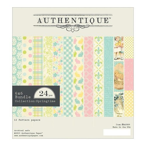 Authentique Springtime 6x6 pad