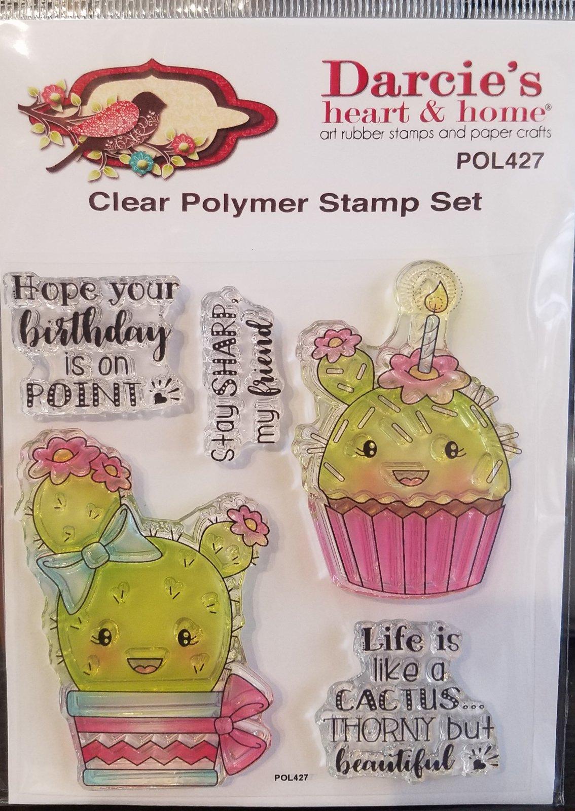 Darcie Stay sharp CLEAR stamp set
