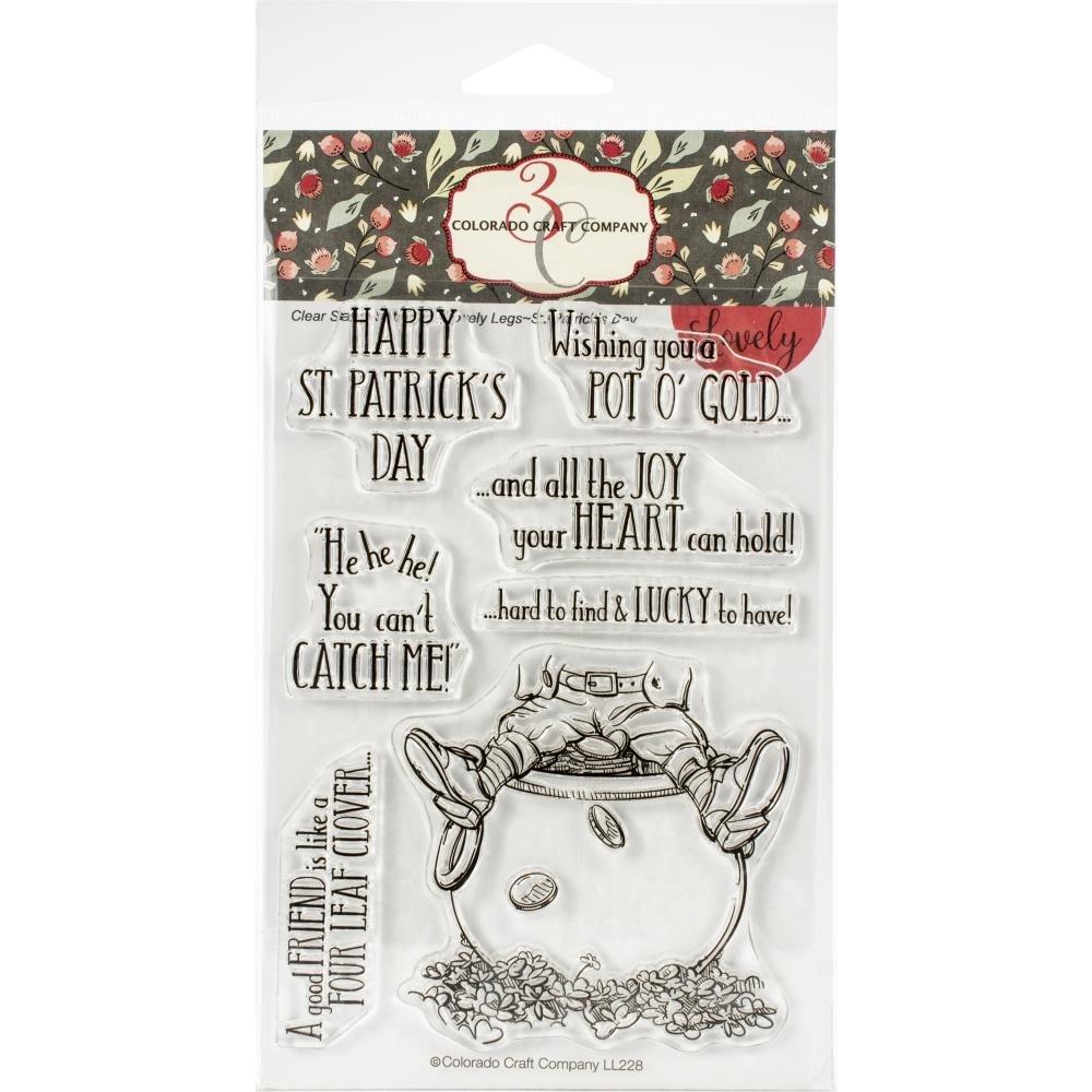Colorado Craft Company St. Patricks Day Stamp Set
