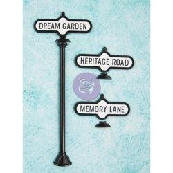 Prima Antique Street Signs 7pc