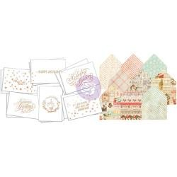 Frank Garcia for Prima Sweet Peppermint Watercolor Card Kit