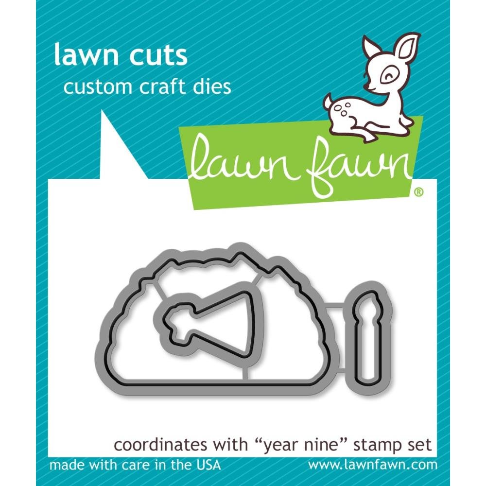 Lawn Fawn Year nine Mini Taco Die set