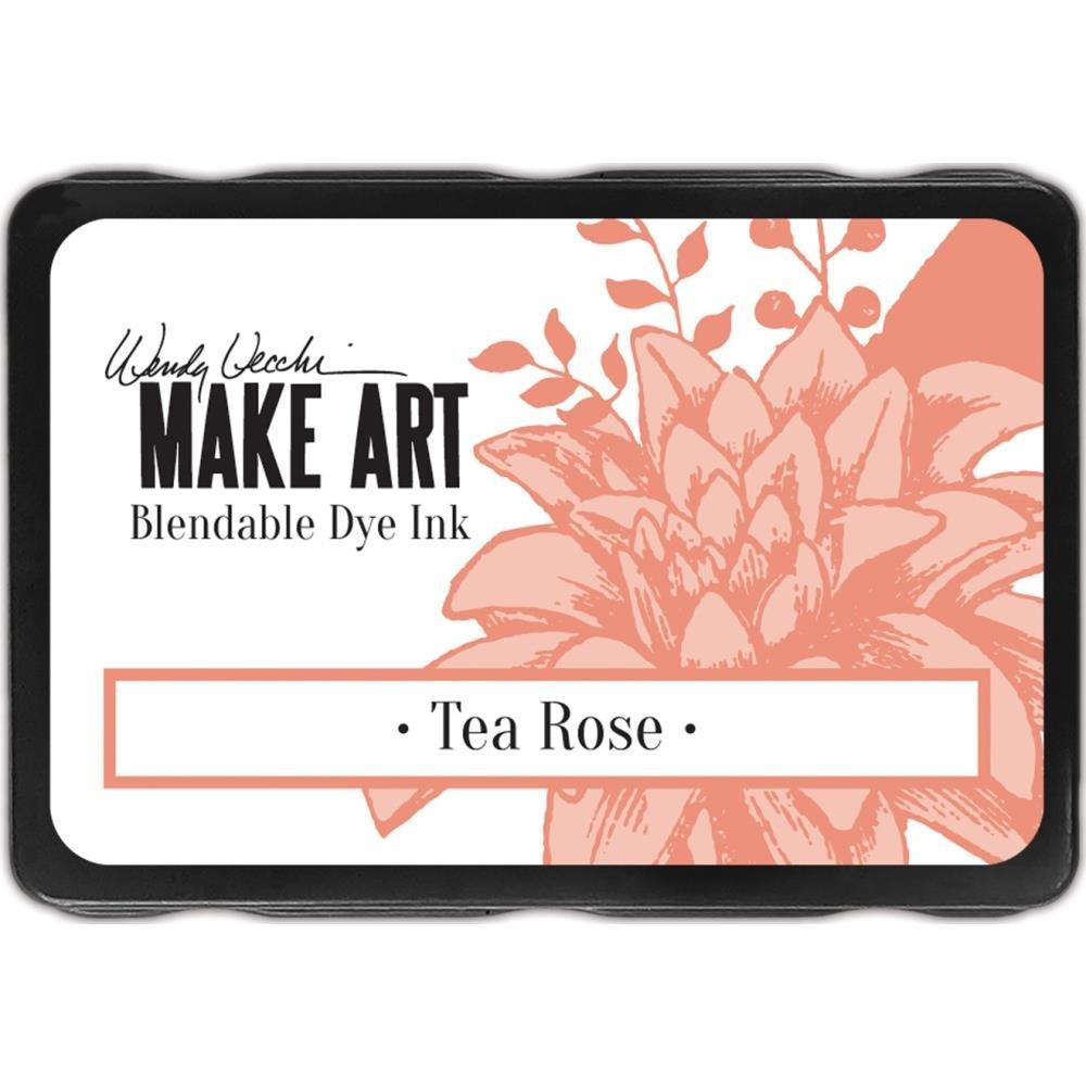 Wendy Vecchi Make Art Blendable dye ink Tea Rose