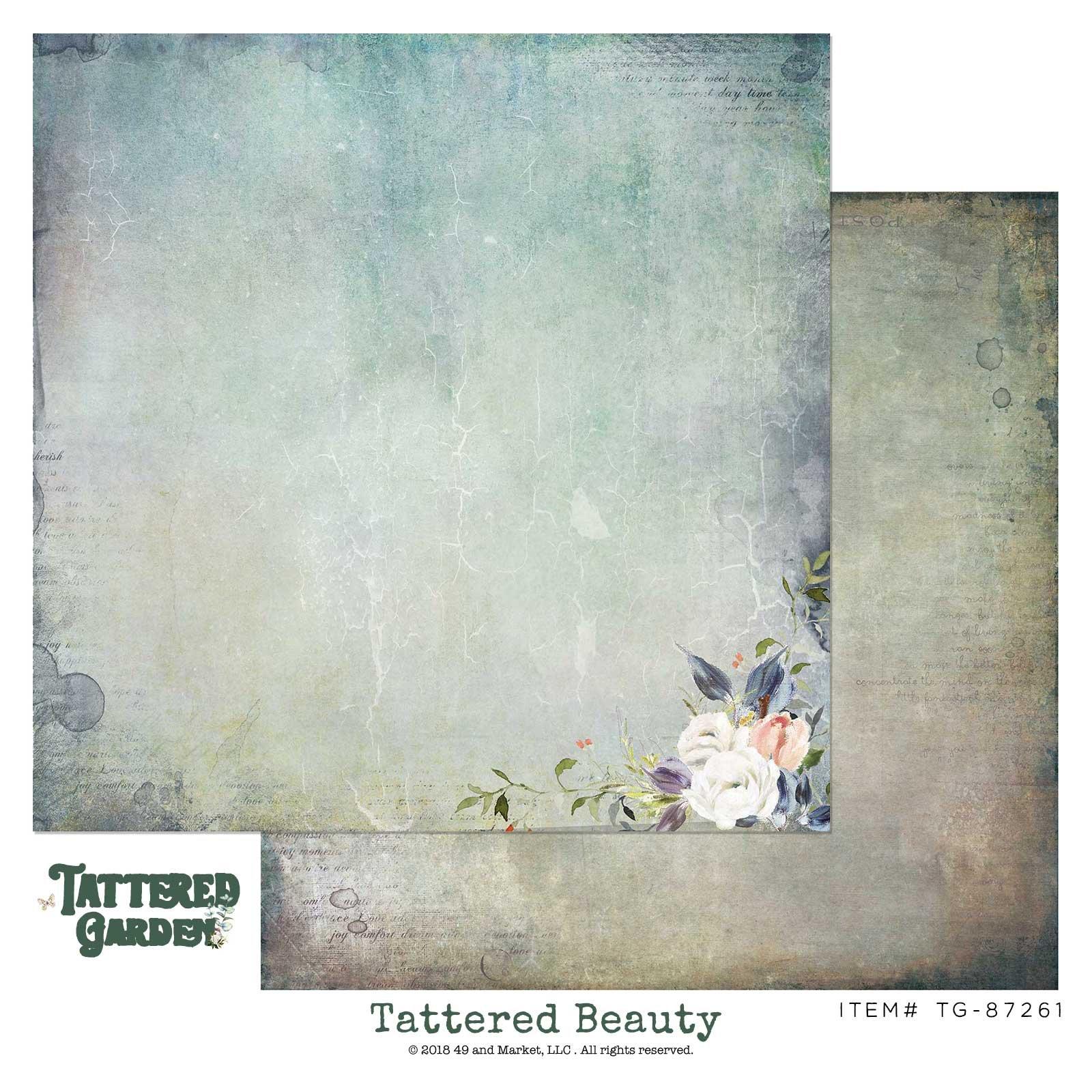 49 & Market Tattered Beauty 12x12