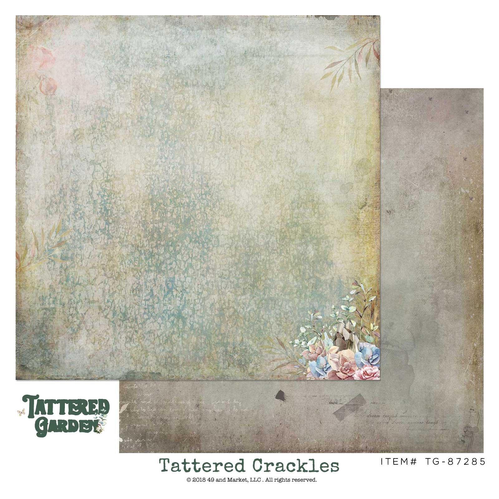 Tattered Crackles