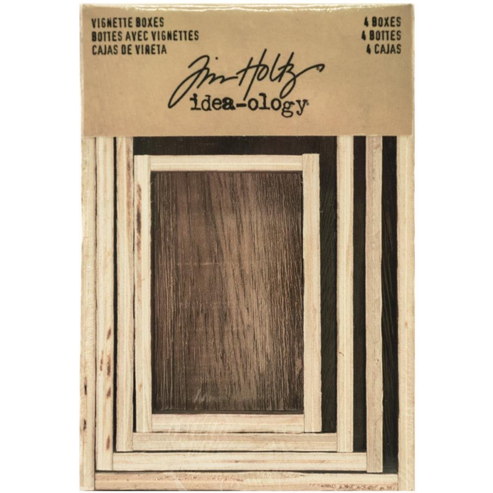 Tim Holtz Ideaology Vignettte Boxes