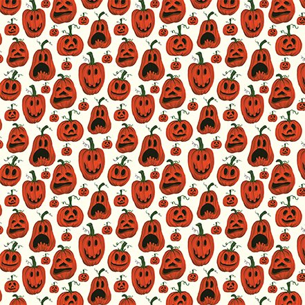 Echo Park Trick or Treat Pumpkins 2 sided 12x12