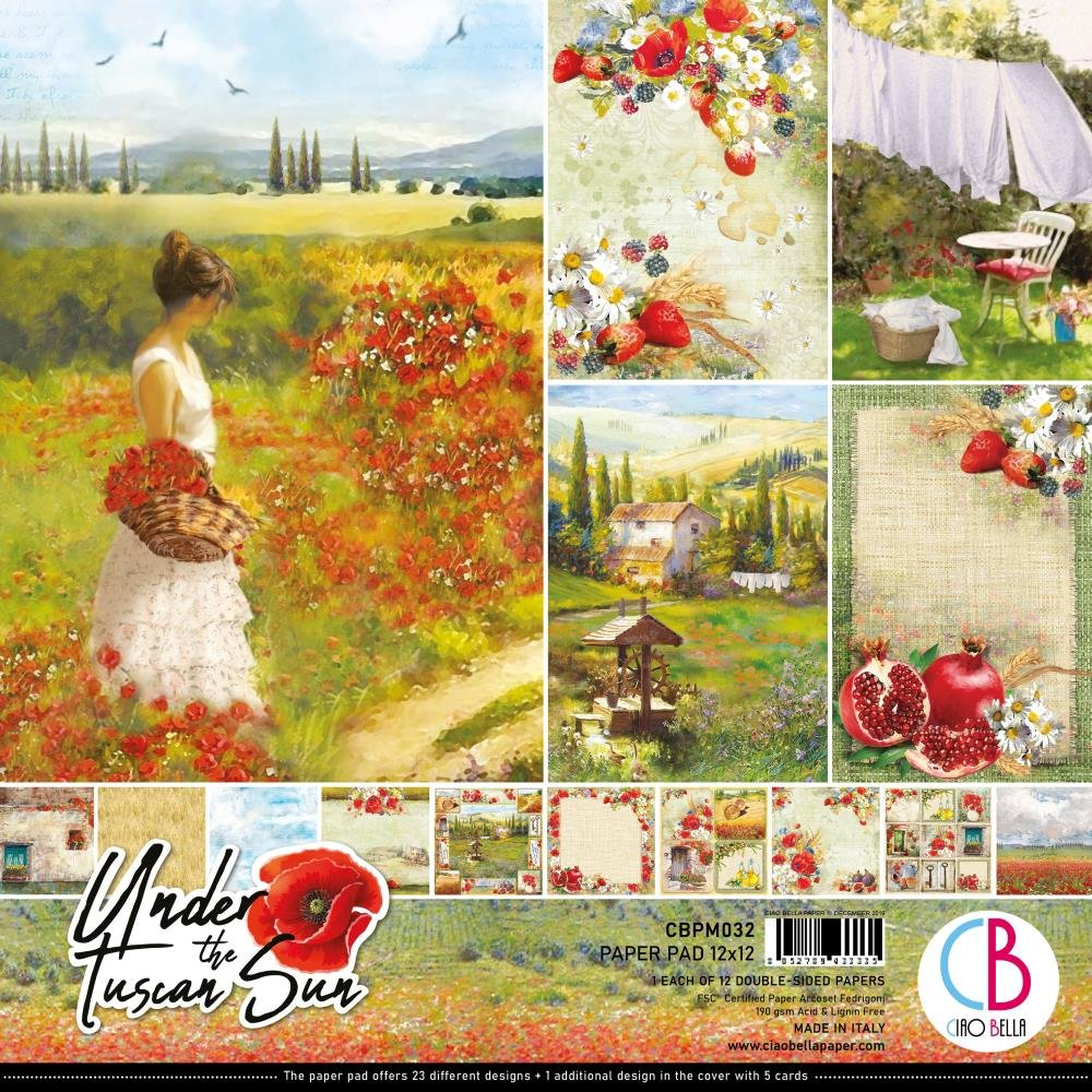 Ciao Bella Under The Tuscan Sun 12x12 Collection Kit