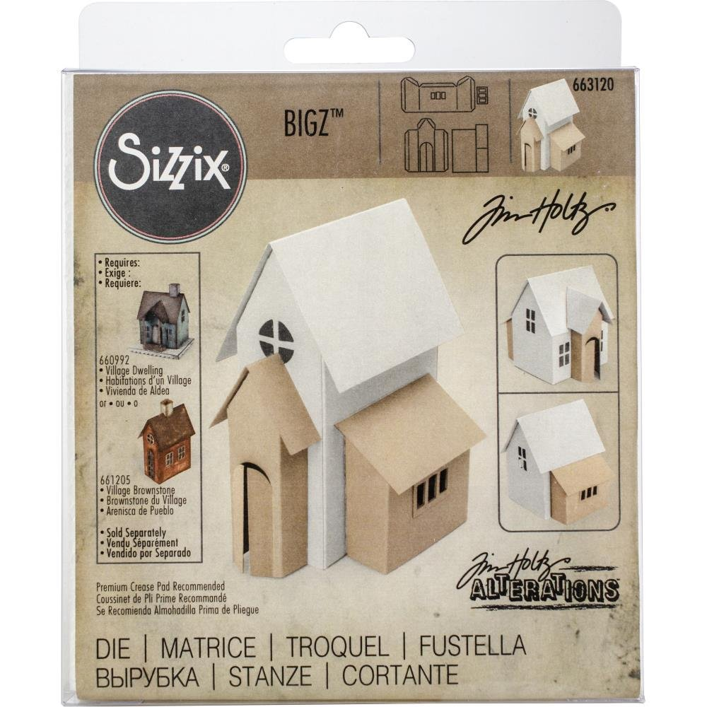 Tim Holtz for Sizzix Village Addition Die