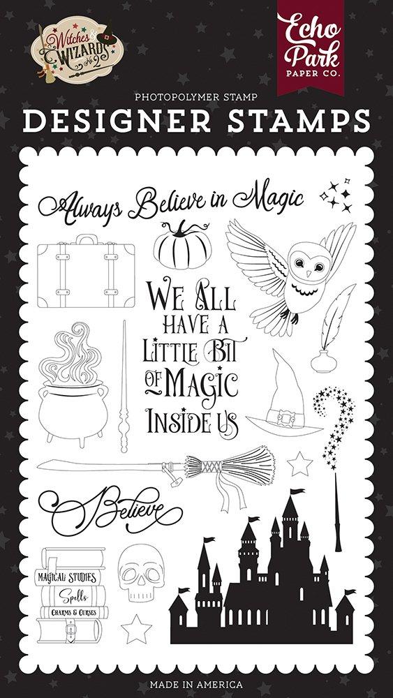 Echo Park Stamps-Believe In Magic