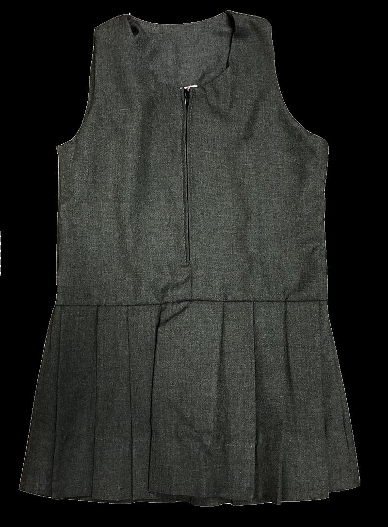 Jumper - Zipper Front - Grey Flannel