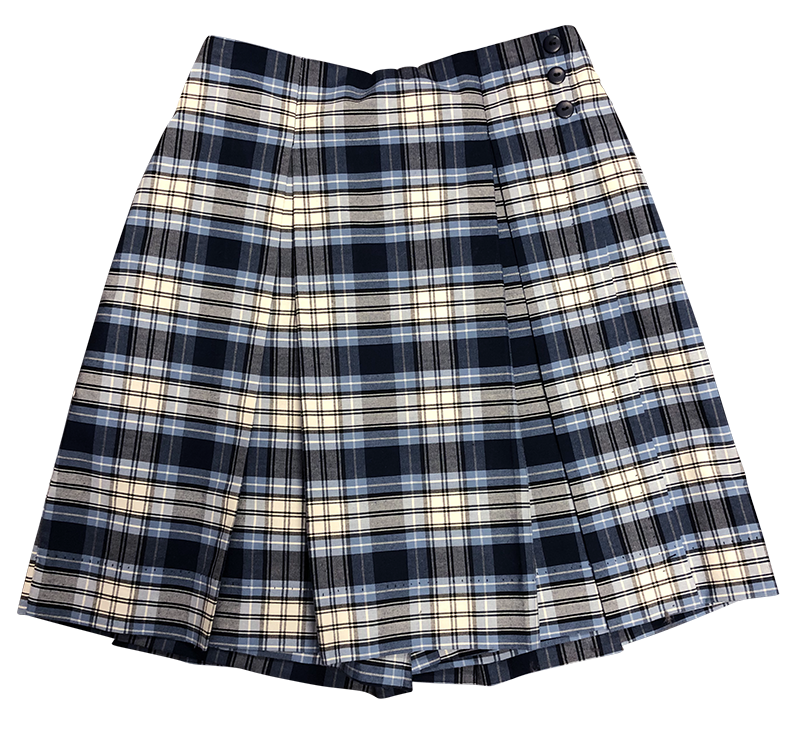 Pleated Skort - Plaid 23