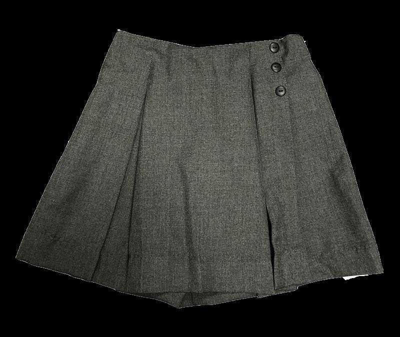 Pleated Skort - Flannel