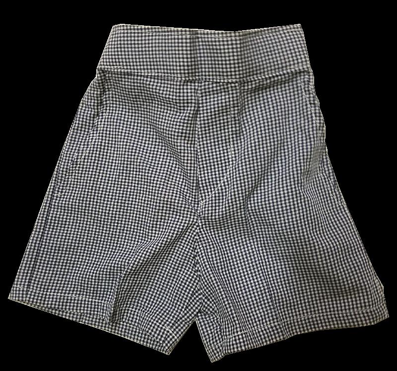 Pre-K Pull-on Shorts - Plaid 34