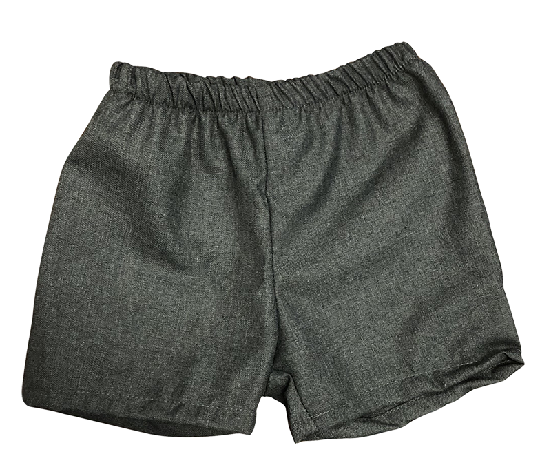 Pull-on Shorts - Flannel