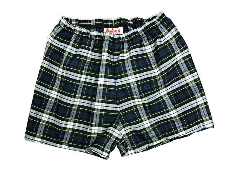 Pull-on Shorts - Plaid 53
