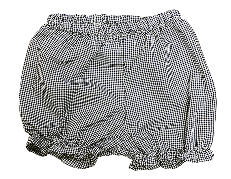 Bloomer with Ruffle - Plaid 34