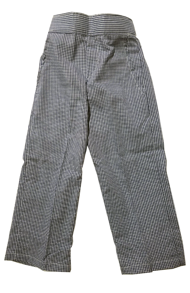 Pull-on Pants - Plaid 34