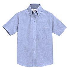 SHS Short Sleeve Oxford - Light Blue