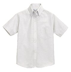 DLS Boys Short Sleeve Oxford