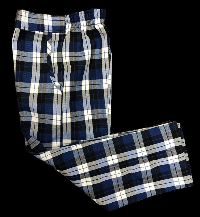Pants - Girls Flat Front - Plaid #27