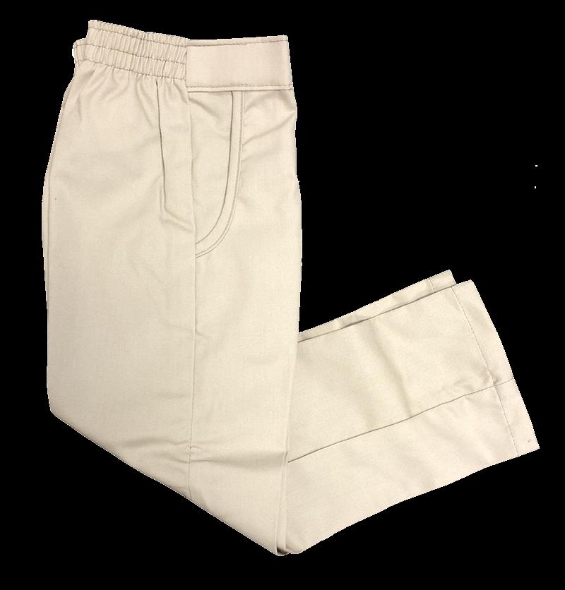 Pants - Girls Flat Front - Khaki