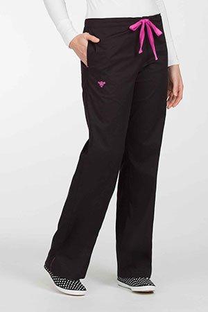 8705 Signature Pant - Black / Raspberry