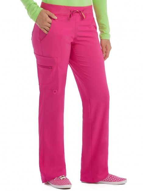 8747 Yoga Transformer Pant - Pink Punch