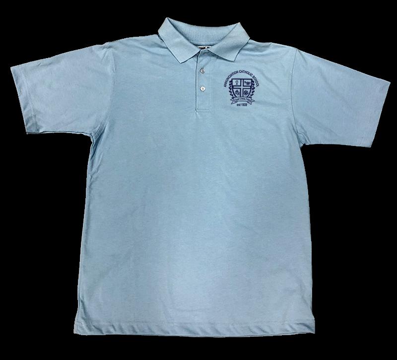 ACS Short Sleeve Jersey Knit - Light Blue